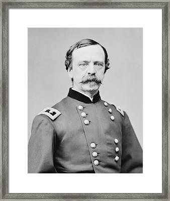 Daniel E. Sickles 1817-1914 As A Major Framed Print by Everett