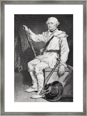 Daniel Morgan 1736-1802. Army Officer Framed Print by Vintage Design Pics