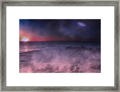 Danight Storm Framed Print by Betsy C Knapp