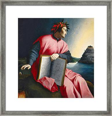 Dante Framed Print by Florentine School