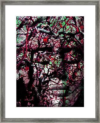 Daphne Agony Framed Print by Angelina Vick
