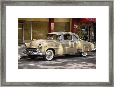 Dappled Chevy Framed Print by Bill Dutting