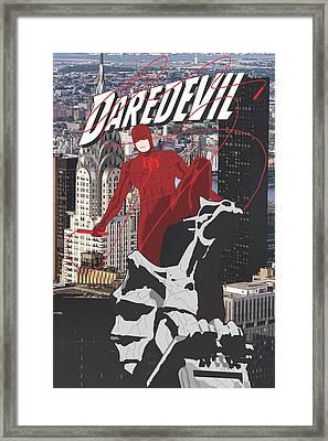 Daredevil Framed Print by Troy Arthur Graphics