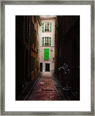 Dark And Light Framed Print by Cecil Fuselier