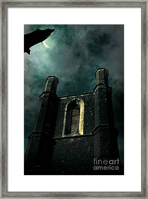 Dark Castle Framed Print by Jorgo Photography - Wall Art Gallery