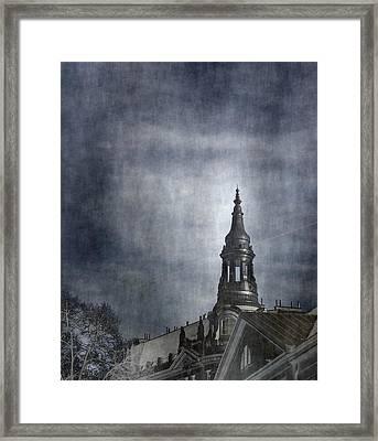 Dark Clouds  Framed Print by Svetlana Neskovska