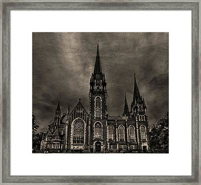 Dark Kingdom Framed Print by Evelina Kremsdorf