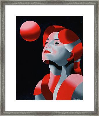 Dark Matter 10 Framed Print by Mark Webster