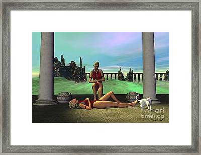 Dark Passion Framed Print by Corey Ford
