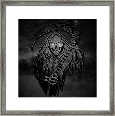 Dark Reaper Framed Print by Michael Bergman