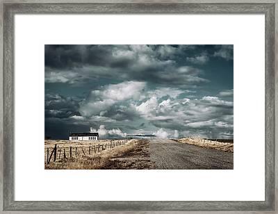 Dark Sky Framed Print by Humboldt Street