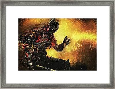 Dark Souls Framed Print by Taylan Soyturk