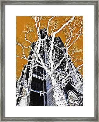Dark Tower Framed Print by Sarah Loft