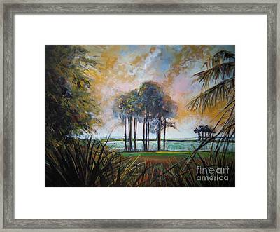 Darkest Before The Dawn Framed Print by Michele Hollister - for Nancy Asbell
