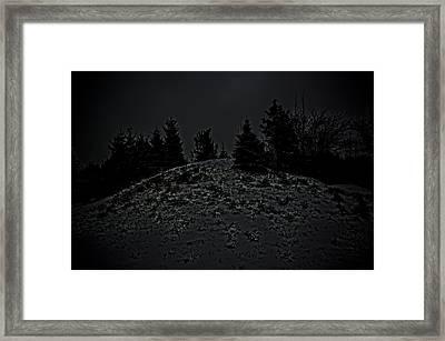 Darkscape Framed Print by Timothy Hedges