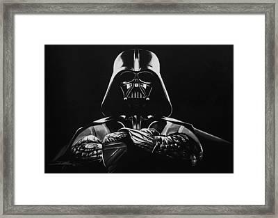 Darth Vader Framed Print by Don Medina