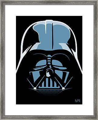 Darth Vader Framed Print by IKONOGRAPHI Art and Design