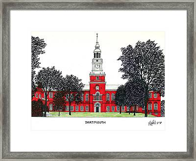 Dartmouth Framed Print by Frederic Kohli