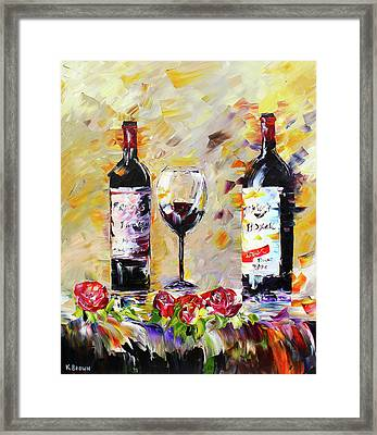 Date Night Framed Print by Kevin Brown