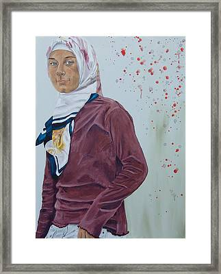 Daughter Of The Prophet Framed Print by Kevin Callahan