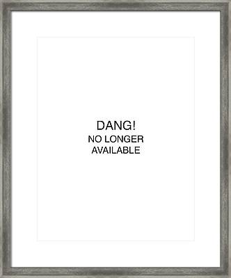 David Bowie Mug Shot Vertical Framed Print by Tony Rubino