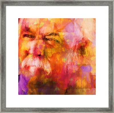 David Crosby Framed Print by Dan Sproul