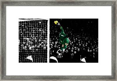 David De Gea Framed Print by Brian Reaves