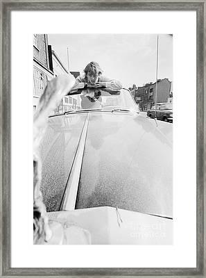 David Hemmings Framed Print by Terry O'Neill