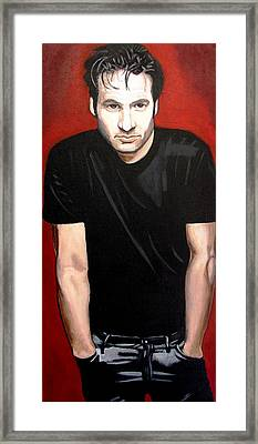 David Framed Print by Jacqui Simpson