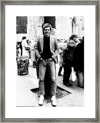 David Letterman, 010882 Framed Print by Everett