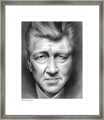 David Lynch Framed Print by Greg Joens