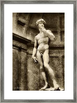 David No. 1 Framed Print by Joe Bonita
