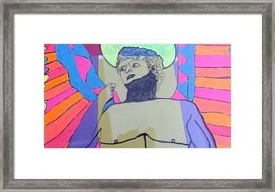 David The Archangel Framed Print by Don Koester