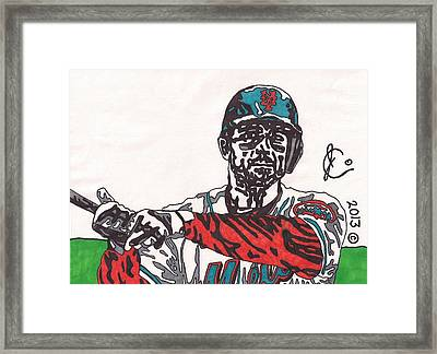 David Wright 2 Framed Print by Jeremiah Colley