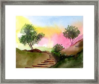 Dawn Framed Print by Anil Nene