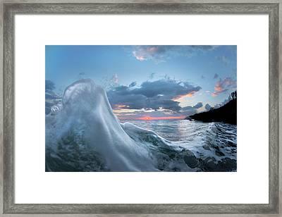Dawn Breaker Framed Print by Sean Davey