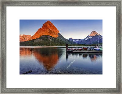 Dawn Breaking Framed Print by Andrew Soundarajan