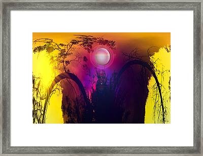 Dawn In A New Era Framed Print by Andrea Lawrence