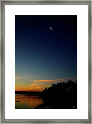 Dawn Kingston Point Beach Framed Print by Tom Romeo