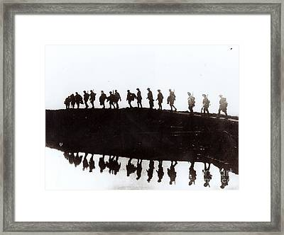 Dawn March Framed Print by Private Collection