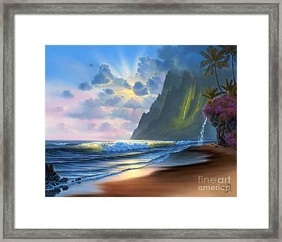Dawn Of A New Day Framed Print by Al Hogue