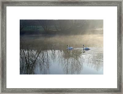 Dawn Patrol Framed Print by Rod Johnson