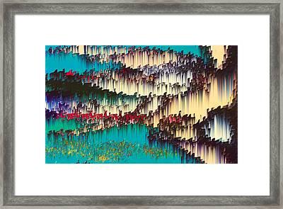 Dawn Symptom Framed Print by Alix Rumble