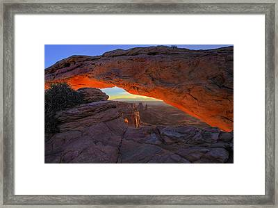 Dawns Early Light Framed Print by Mike  Dawson
