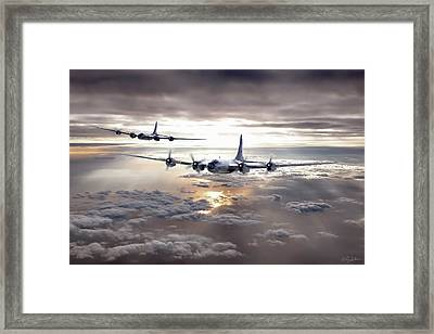 Dawns Early Light Framed Print by Peter Chilelli