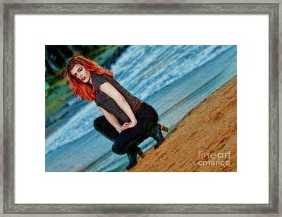 Dawson Adrian Framed Print by Blake Richards