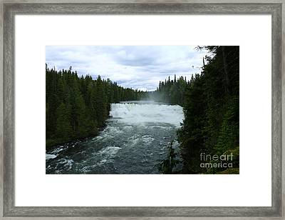 Dawson Falls Framed Print by Christiane Schulze Art And Photography