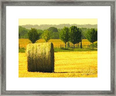 Day Is Done Framed Print by Joe Jake Pratt