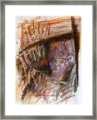 Day18177 Not An Artist Framed Print by Pearse Gilmore