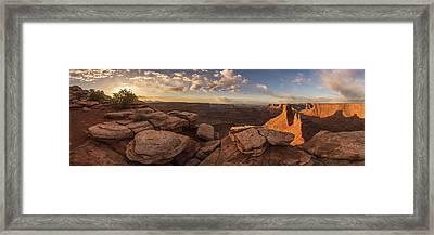 Daybreak  Framed Print by Dustin LeFevre